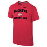 Nike Boy's Classic Cotton S/S Ohio State Tee - Univ Red