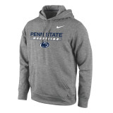 Nike Men's Therma-Fit KO Penn State Pullover - Dark Heather
