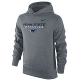 Nike Boy's Therma-Fit KO Penn State Hoody - Dark Heather