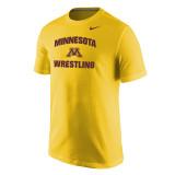 Nike Men's Core S/S Univ of Minnesota Tee - Univ Gold