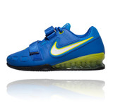 Nike Romaleos 2 Weightlifting Shoes - Hyper Cobalt/Electric Yellow/Blk