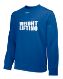 Nike Weightlifting Club Fleece - Royal