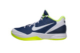 Nike Air Zoom Hyperattack Volleyball Shoes - Midnight Navy/White/Volt