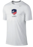 Nike USA Fencing Legend Tee - White