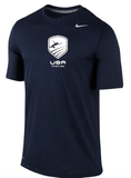 Nike USA Fencing Legend Tee - Navy / White