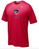 Nike USA Fencing Legend Tee - Red