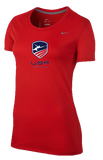 Nike USA Fencing Women Legend Tee - Red