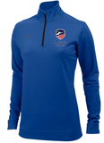 Nike USA Women's Fencing 1/4 Zip - Royal
