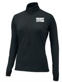 Nike Women's Weightlifting 1/2 Top - Black