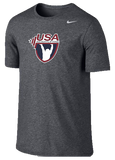 Nike Dri Fit Cotton Tee USAW - Grey