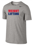 Nike Weightlifting Dri Fit Cotton Tee - Split / Grey