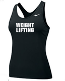 Nike Women's Weightlifting Pro Tank - Black