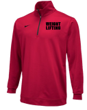 Nike Men's Weightlifting Training Dri Fit 1/2 Top - Red