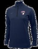 Nike Women's USAW Dri Fit 1/2 Zip - Navy