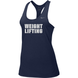 Nike Women's Weightlifting Balance Tank - Navy