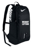 Nike Weightlifting Alpha Rise Unisex Backpack - Black