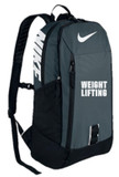 Nike Weightlifting Alpha Rise Unisex Backpack - Grey