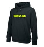 Nike Team Club Wrestling Hoody - Black