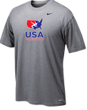 Nike Men's USAWR Team Legend Crew Training Tee - Grey
