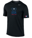 Nike Men's USAWR Team Legend Crew Training Tee - Black