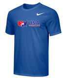 Nike Men's USAWR Core Crew Training Top - Royal