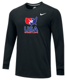 Nike Men's USAWR Core Cotton Crew Training Top - Black