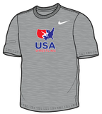 Nike Youth USAWR Training Tee - Grey