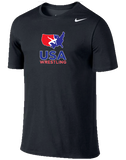 Nike Men's USAWR Training Short-Sleeve Tee - Black