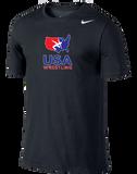 Nike Men's USAWR Training Short-Sleeve Tee - Black