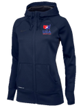 Nike Women's USAWR KO Full-Zip Training Hoodie - Navy
