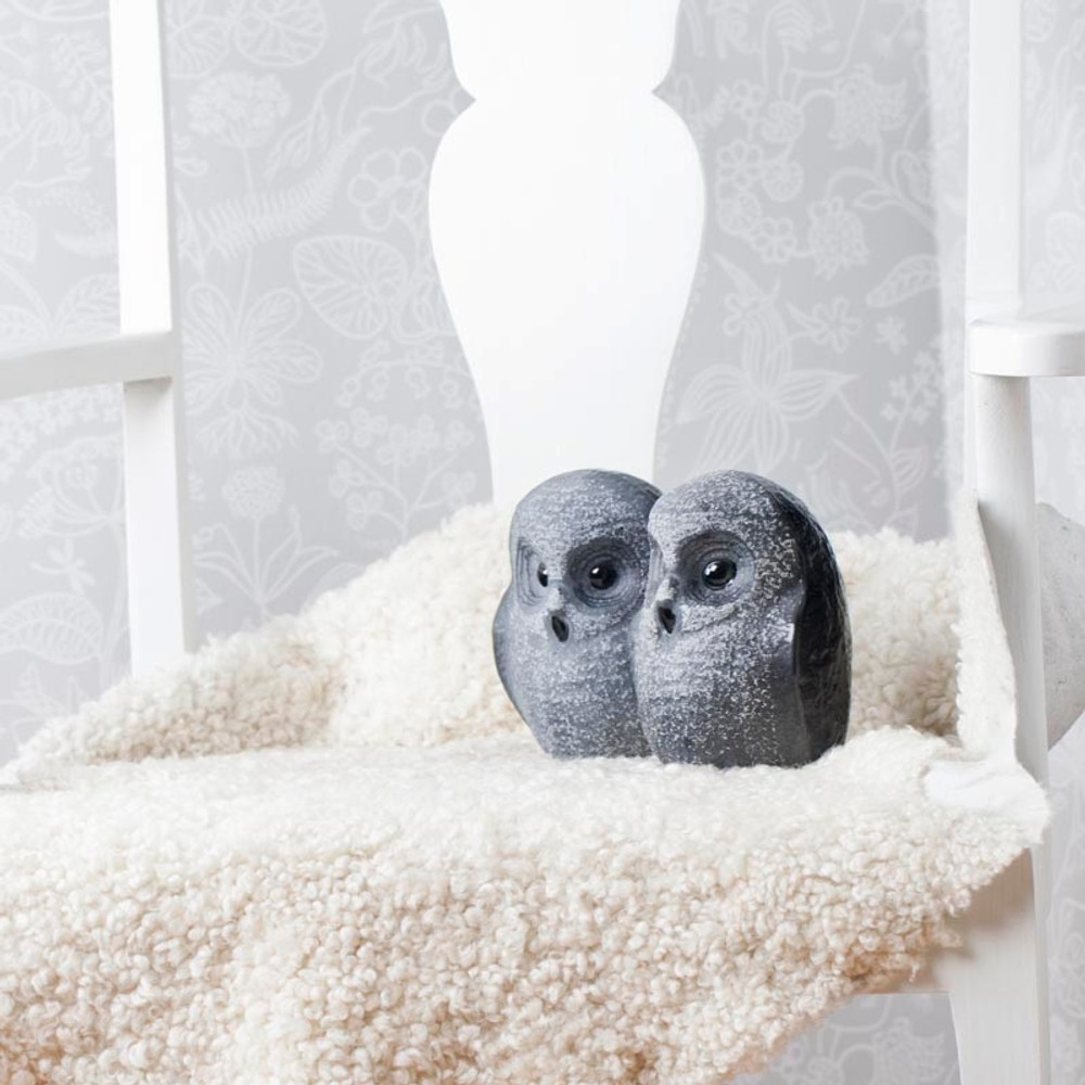 Owl Black Crystal Sculpture   34052   Mats Jonasson Maleras-2
