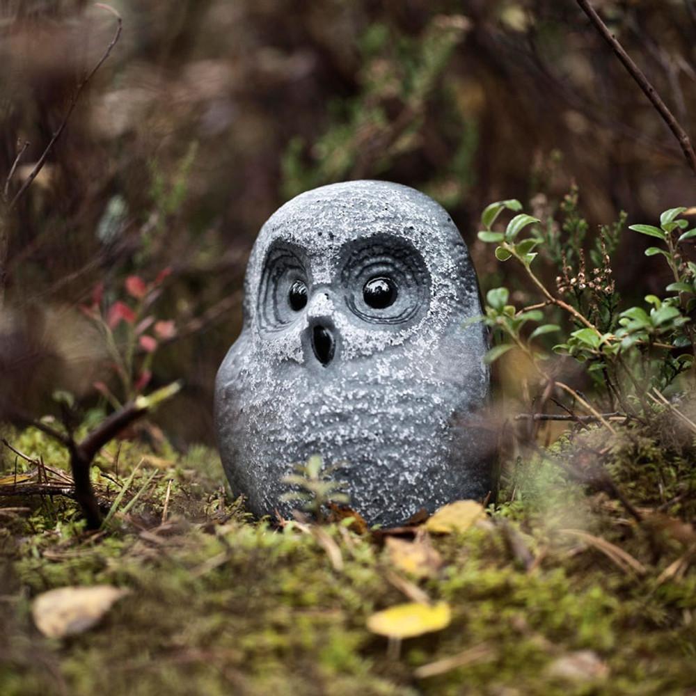 Owl Black Crystal Sculpture   34052   Mats Jonasson Maleras-3