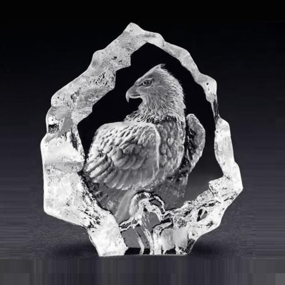 Mini Eagle Crystal Sculpture | 88124 | Mats Jonasson Maleras