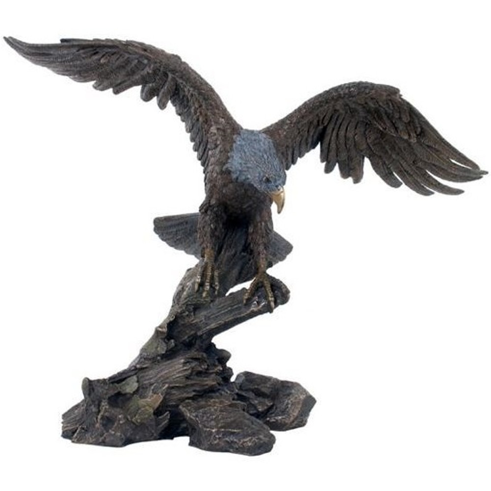 Eagle Spreading Wings Sculpture | Unicorn Studios | wu74848a4
