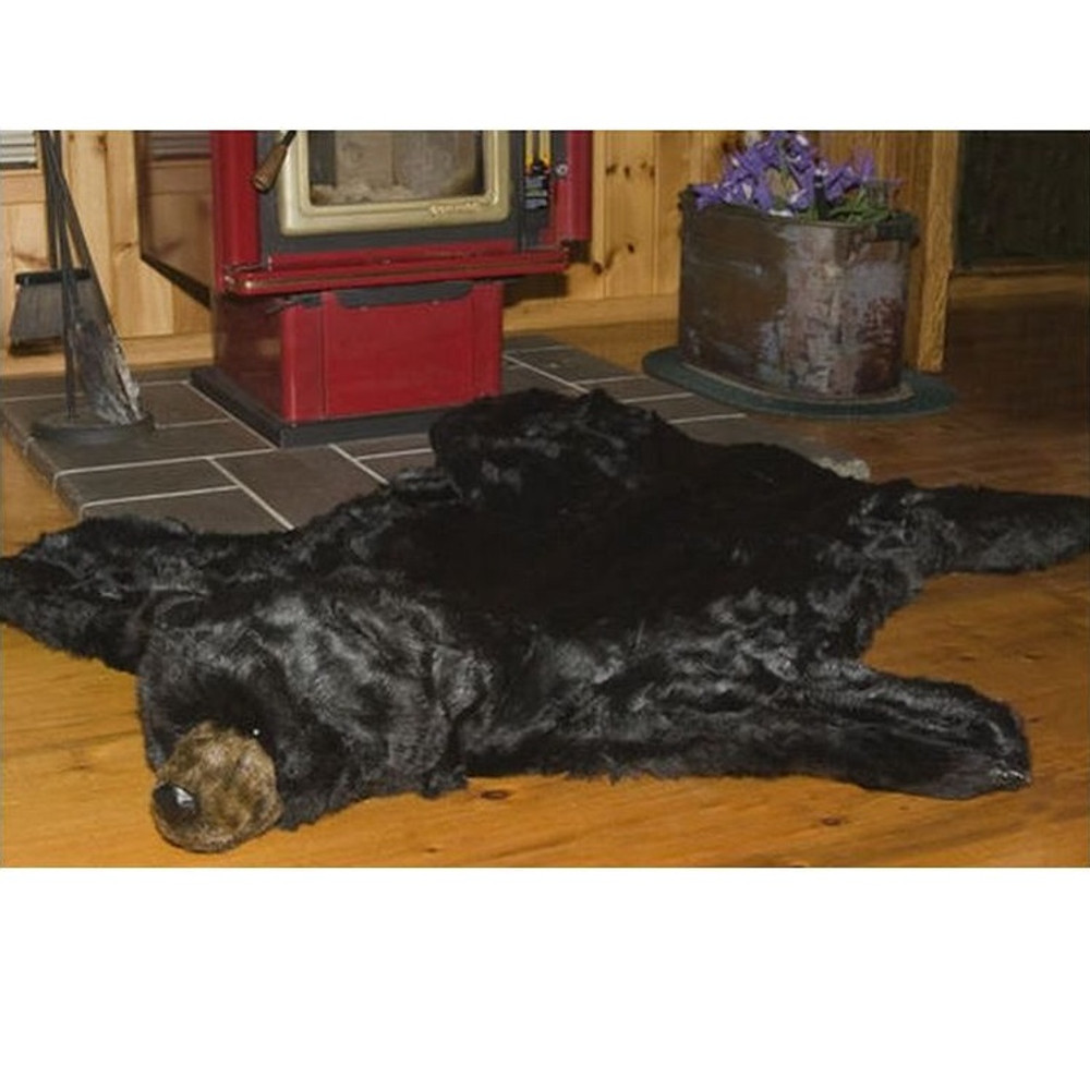 ... Black Bear Area Rug | Ditz Designs | DIT40240  2 ...