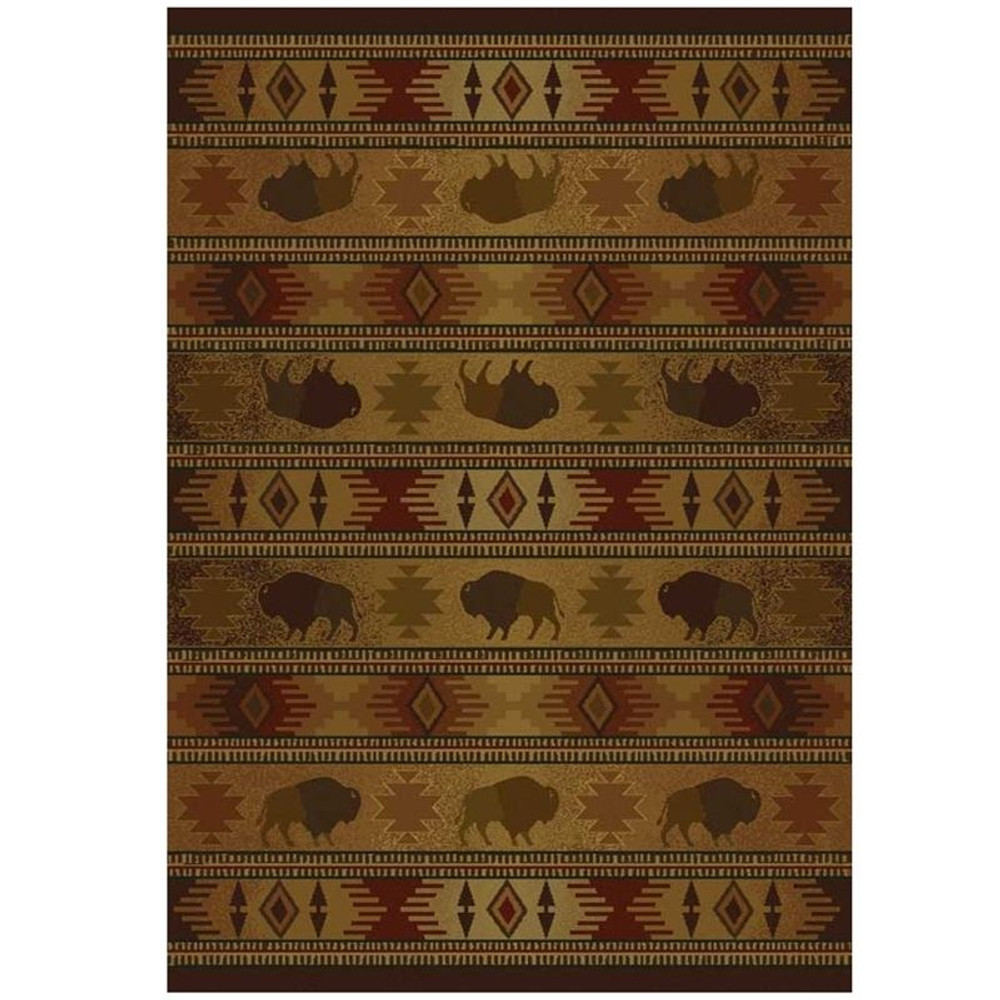 Buffalo Area Rug Tatonka Lodge