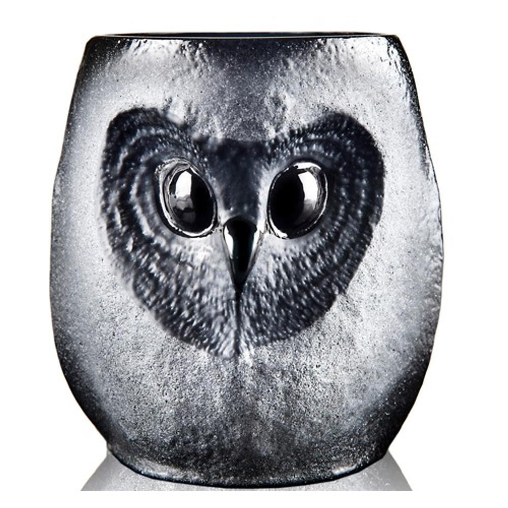 owl tumbler strix mats jonasson maleras
