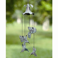 Morning Glory & Hummingbird Wind Chime | 33078 | SPI Home