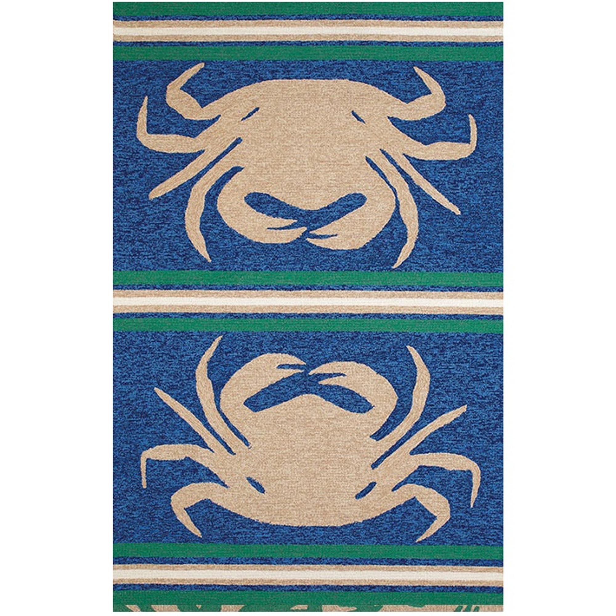 Crab Indoor Outdoor Area Rug Crab Shack Rug United Weavers