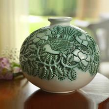 Birds Limited Edition Ceramic Vase | Rinconada