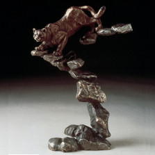 "Cougar Bronze Sculpture ""Cougar"" | 22012"