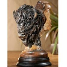 """Buffalo Sculpture """"Bad Lands"""""""