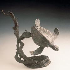 Sea Turtle Bronze Sculpture   41026