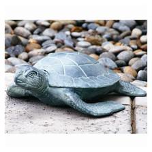 Garden Turtle Sculpture   AL13662