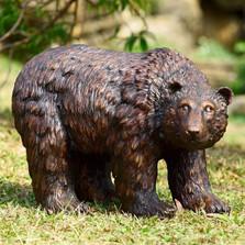 Bear Looking Garden Sculpture | 50751