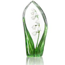 Lily of the Valley Crystal Sculpture | 34215