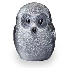 Owl Black Crystal Sculpture | 34052