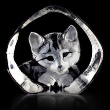 Cat Crystal Sculpture | 33729