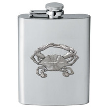 Blue Crab Flask