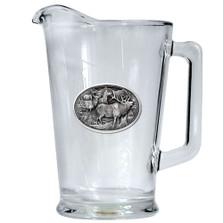 Elk Beer Pitcher